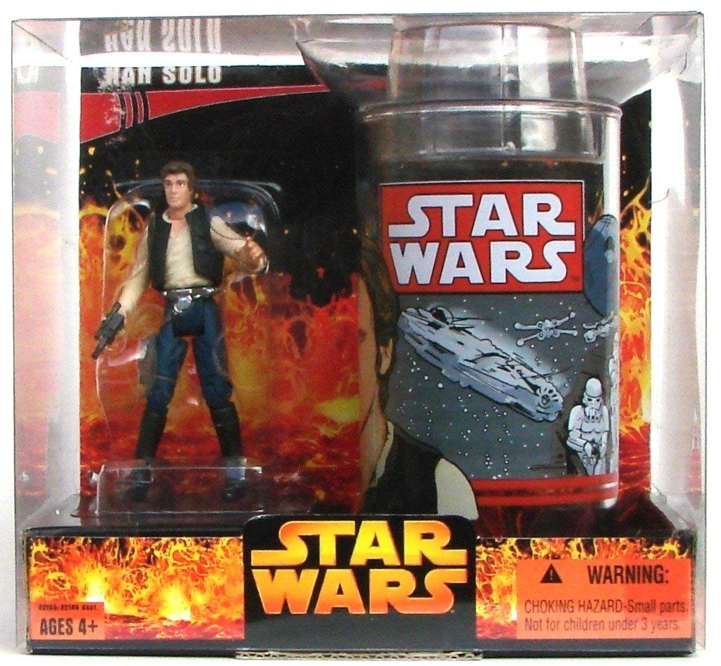 Star Wars Target Exclusive Han Solo Action Figure with Cup By Hasbro