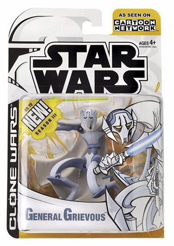 Star Wars The Animated Series GENERAL GRIEVOUS Figure Clone Wars 2003