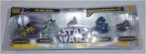"Star Wars Titanium Series Five Pack With ""Raw Metal"" AT-RT (Wal-Mart Exclusive)"
