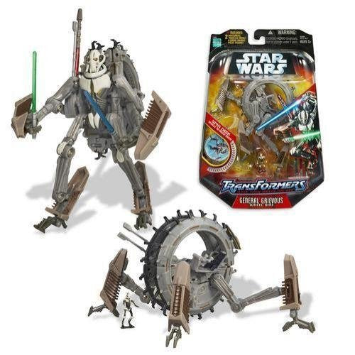 Star Wars: Transformers General Grievous Action Figure