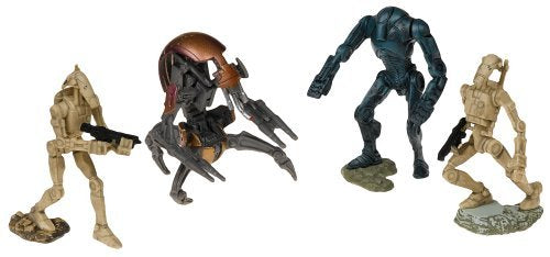 Star Wars Unleashed Battle 4 Pack Battledroids