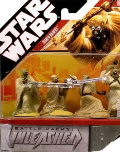 Star Wars Unleashed Battle 4 Pack Tusken Raiders