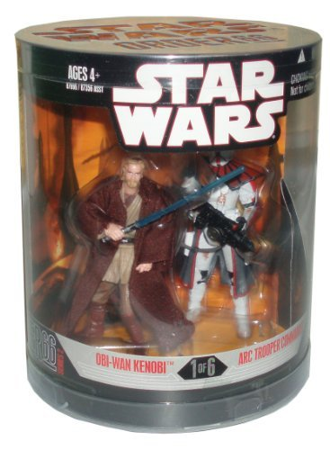 Star Wars Year 2007 Exclusive Canister Series 2 - 2 Pack 4 Inch Tall Action Figure
