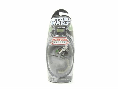Titanium Series Star Wars 3 INCH Vehicles - Wheeled AT-RT Transport
