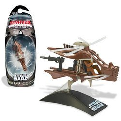 TITANIUM SERIES STAR WARS 3INCH VEHICLES - WOOKIEE HELICOPTER