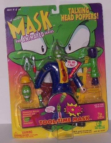The Mask Talking Head Poppers Tool Time Mask