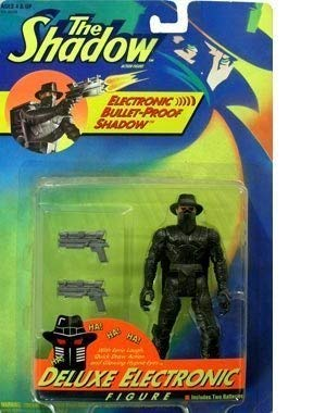 The Shadow Deluxe Bullet-Proof Electronic Figure