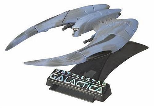 "Titanium Series Battlestar Galactica 3 Inch Vehicles ""Scar"" Cylon Raider"