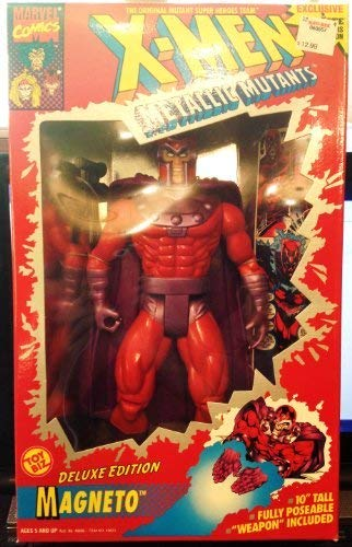 X-MEN Metallic Mutants Delux Edition Magneto Toy Biz 1994