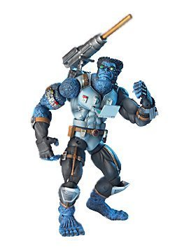 X-Men Action Figure Asst. 2:Tech Gear Beast w/ Cannon Launcher