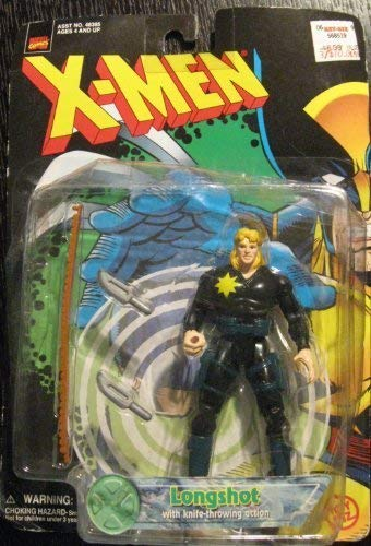 X-Men Longshot With Knife-Throwing Action