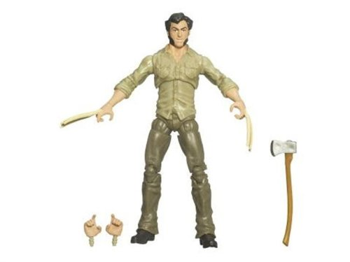 X-Men Origins Wolverine Movie Series 3 3/4 Inch Action Figure Logan with Bone Claws by Hasbro