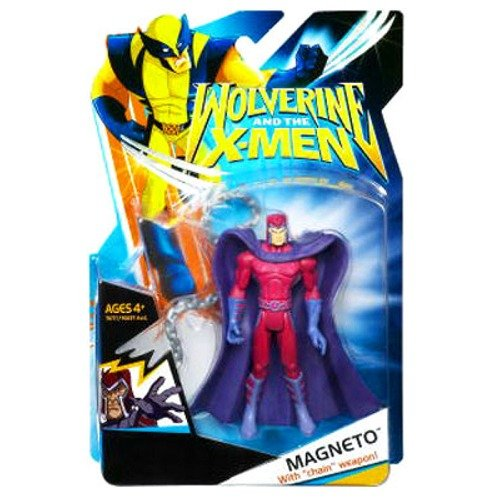 X-Men Wolverine Animated Action Figure Magneto