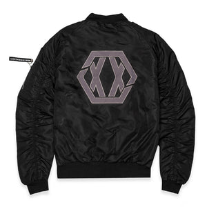 Blasterjaxx Reversible Bomberjacket (EXCLUSIVE)