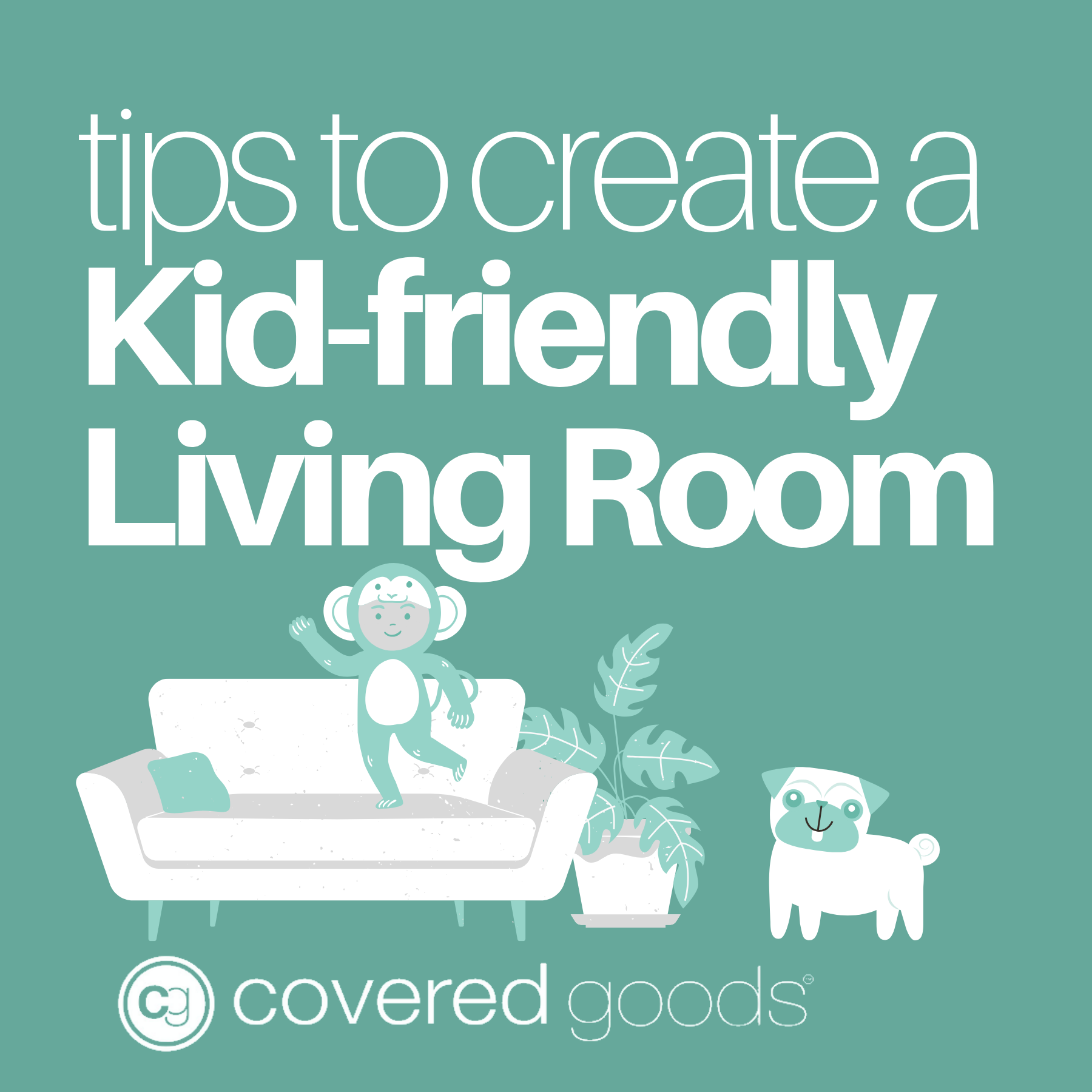Stuck Inside? Tips to Create a Kid-friendly Living Room