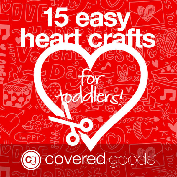15 Easy Heart Crafts for Toddlers