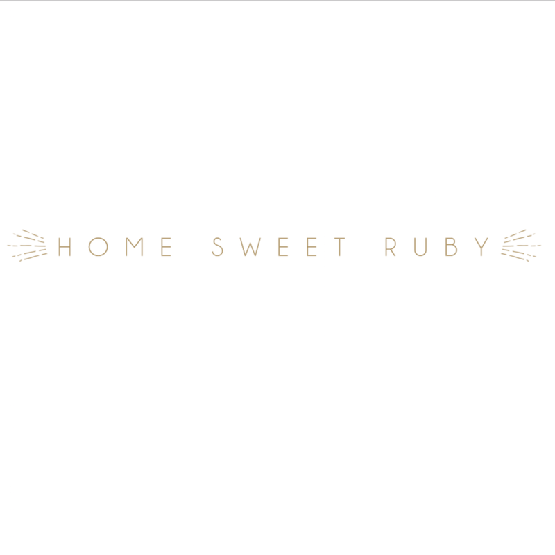 Home Sweet Ruby