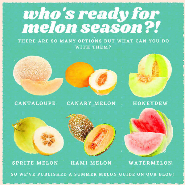 How to Use Seasonal Summer Melons