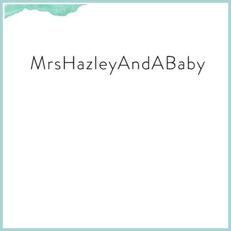 Mrs. Hazely and a Baby
