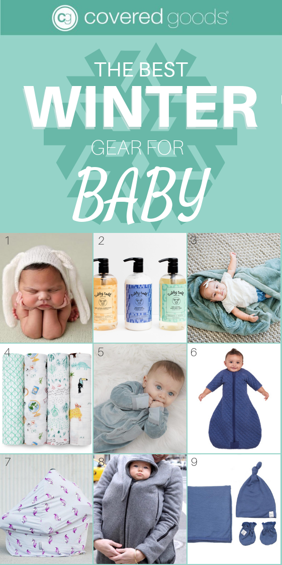 winter baby essentials and nursing covers for new moms