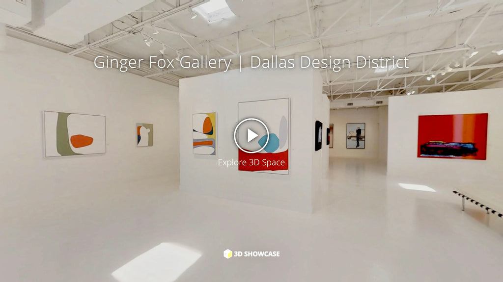 Virtual tour of Ginger Fox Gallery interior 8/2018