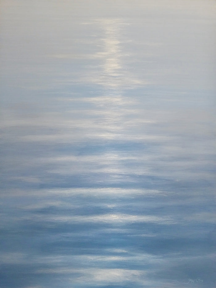 Serene Waters by Ginger Fox, 48 x 36 in