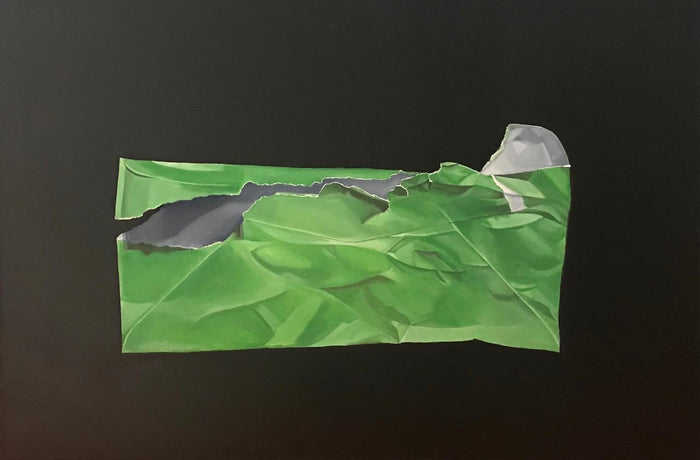 Green Envelope by Brian Broadway, 24 x 36 in