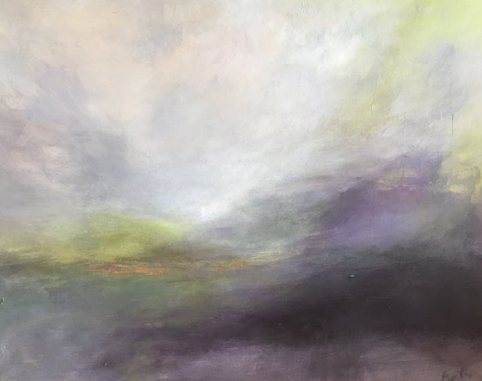 Foggy Recollections by Ginger Fox, 40 x 50 in