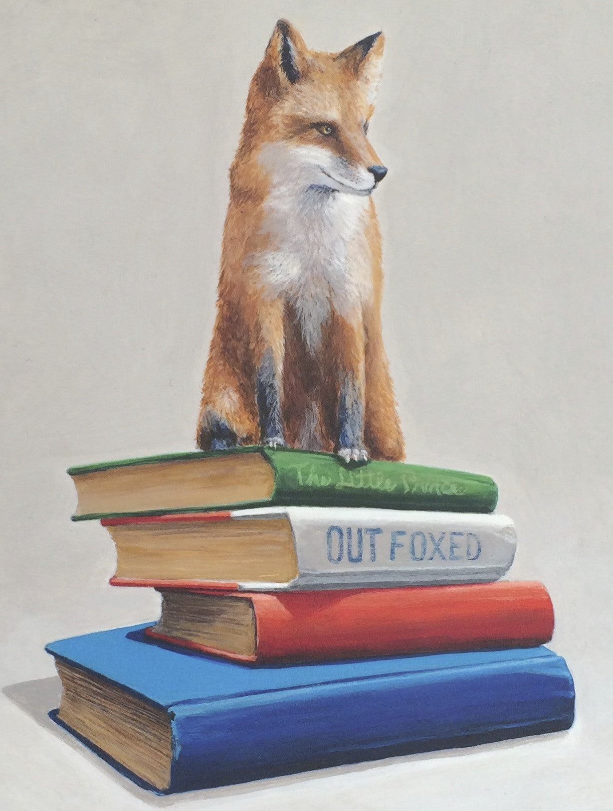 Out Foxed on paper