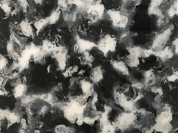 Black Metallic by Juli Price, 36 x 48 in