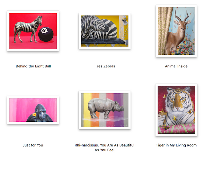 Magical Animals Serengeti Prints