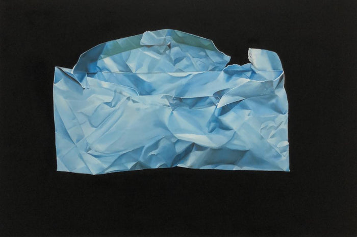 Blue Envelope by Brian Broadway, 24 x 36 in