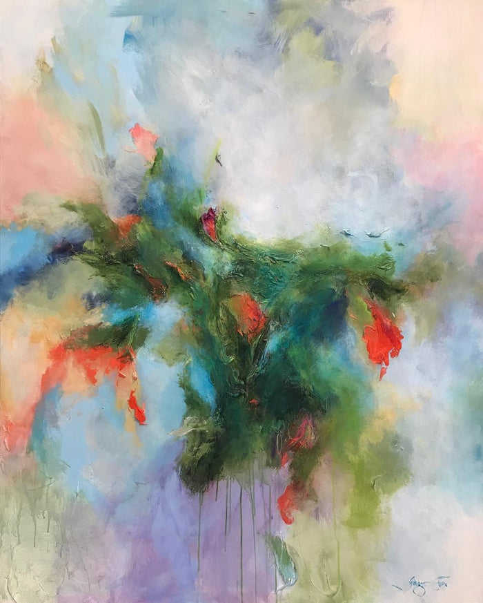 Bloom by Ginger Fox, 60 x 48 in