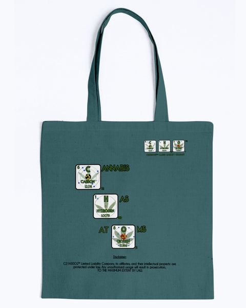 Cannabis Has Atoms! Universal Tote Bag