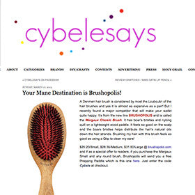 EDITOR PICK: CybeleSays.com likes Margaux Brush!