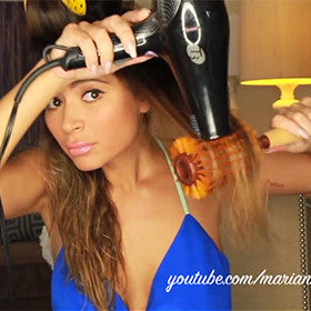 HOW TO: La La Mer Straight Hair with Volume Video Tutorial