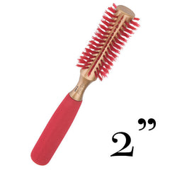 BRUSHOPOLIS-Monroe-hourglass-round-brush-Lady in Red-MP2625-L-0
