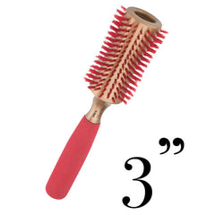 BRUSHOPOLIS-Monroe-hourglass-round-brush-Lady in Red-MP2635-L-0