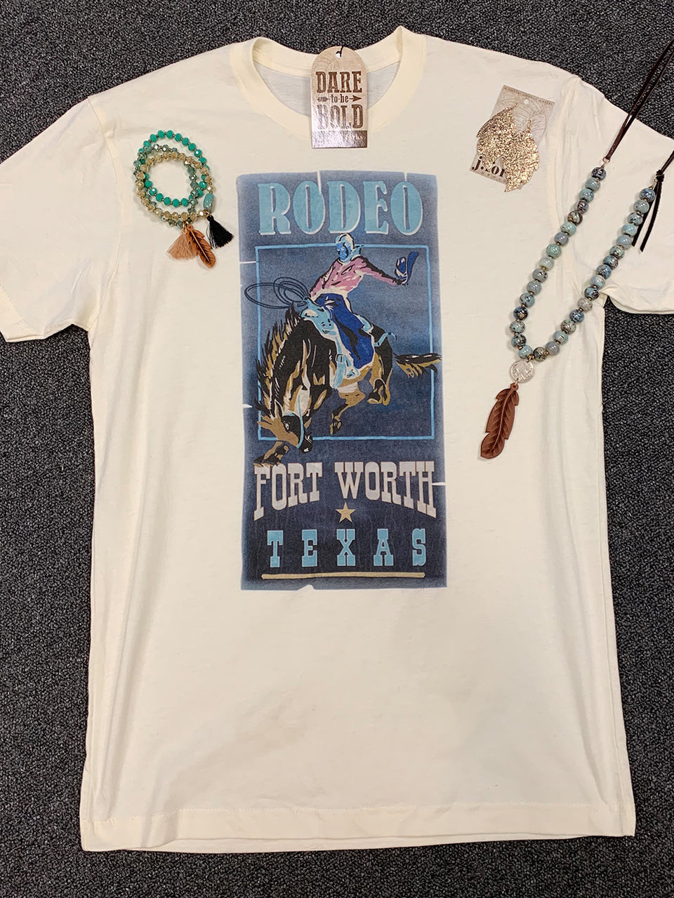 1089 Ft. Worth Rodeo Tee