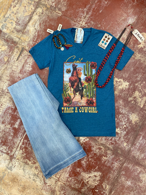 1875 Can't Tame a Cowgirl Tee