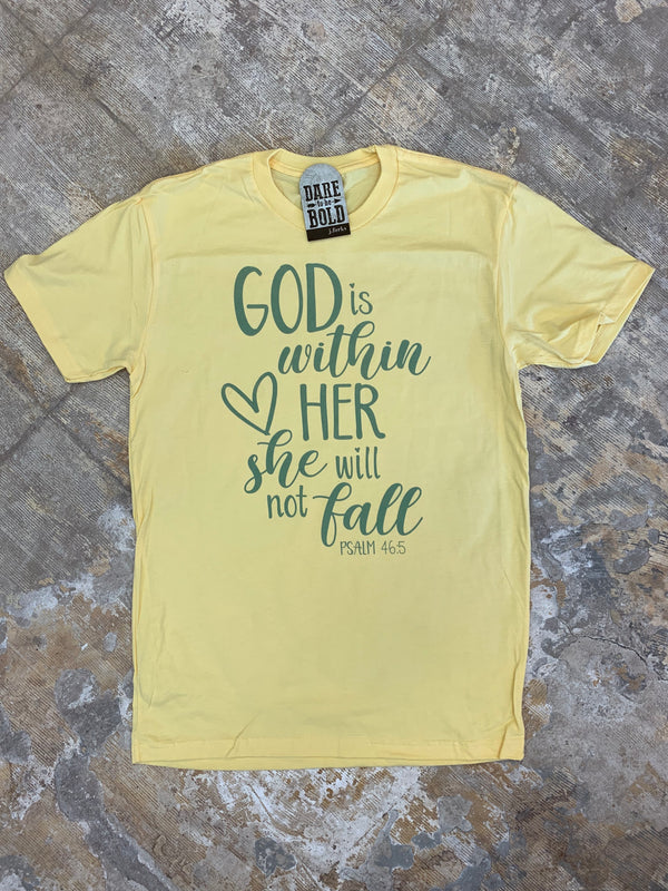 1350 God is within Her Tee