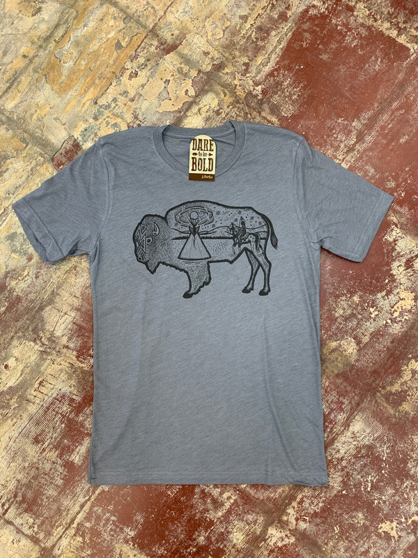 1156 Native Buffalo Tee