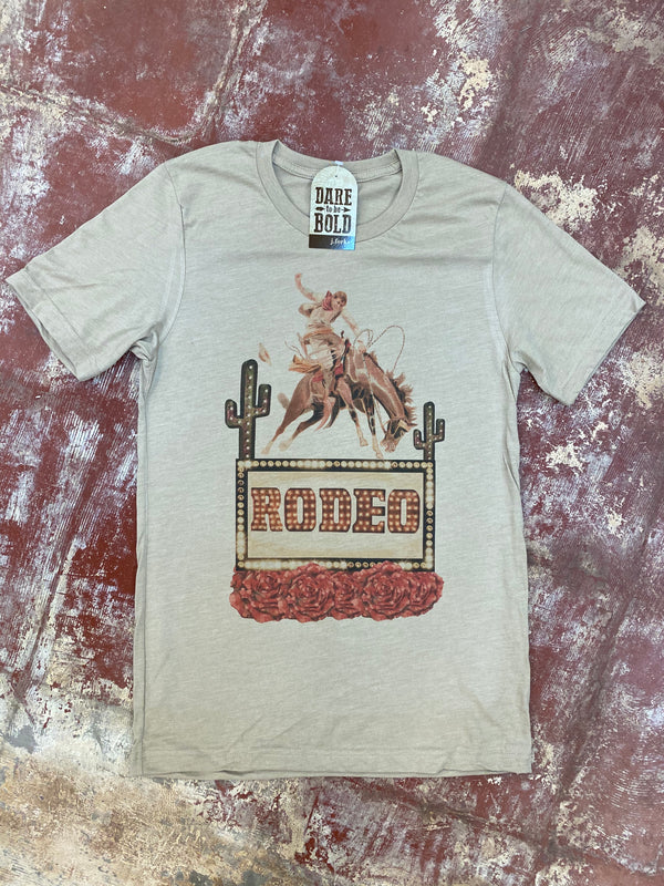 1740 Rodeo Roses Tee