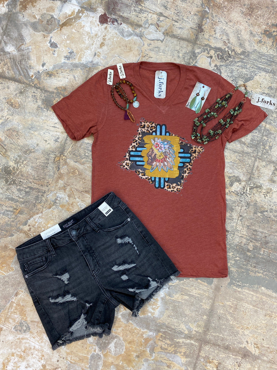 1874 Leopard Chief Tee