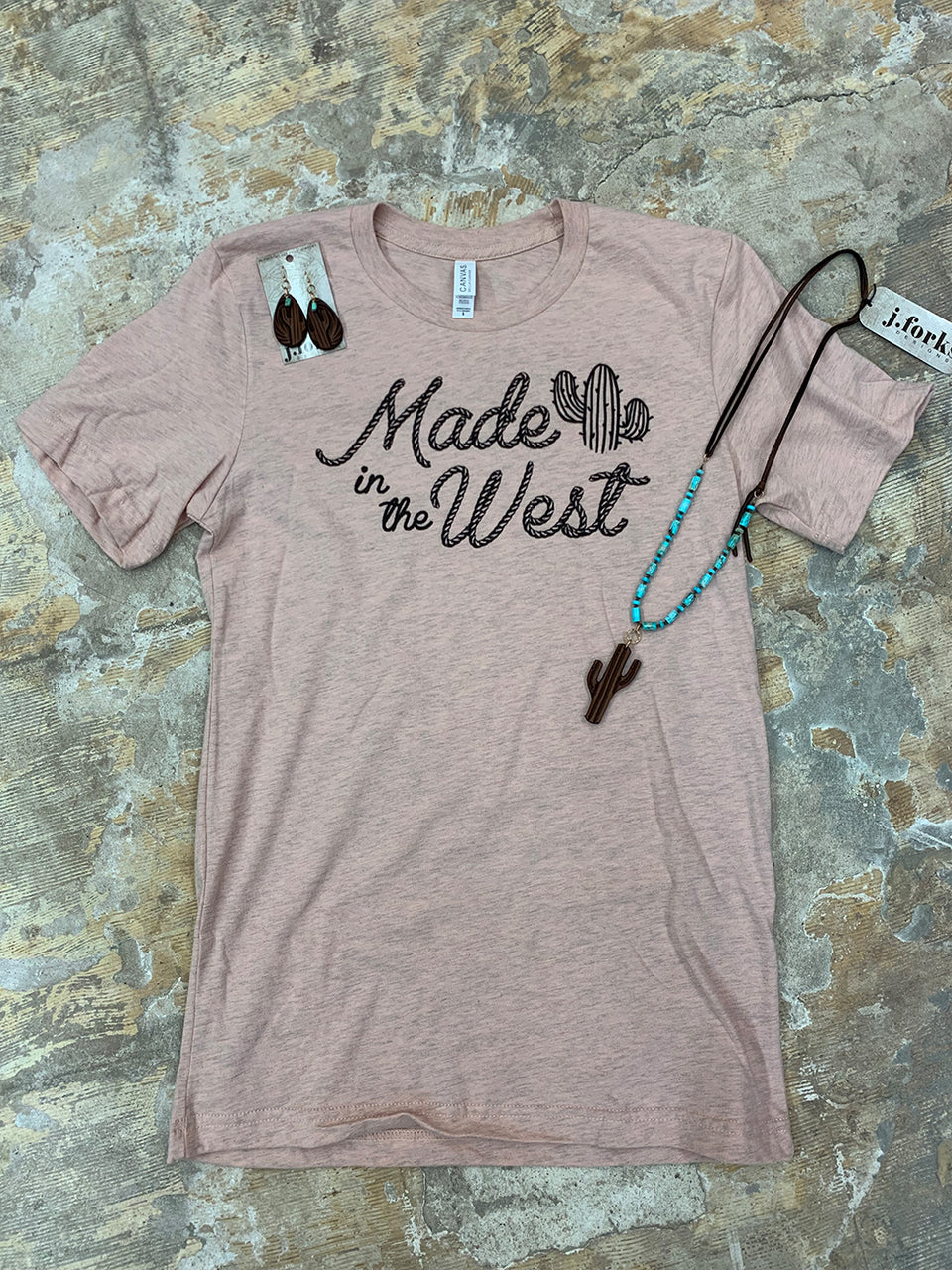 1098 Made in the West Tee