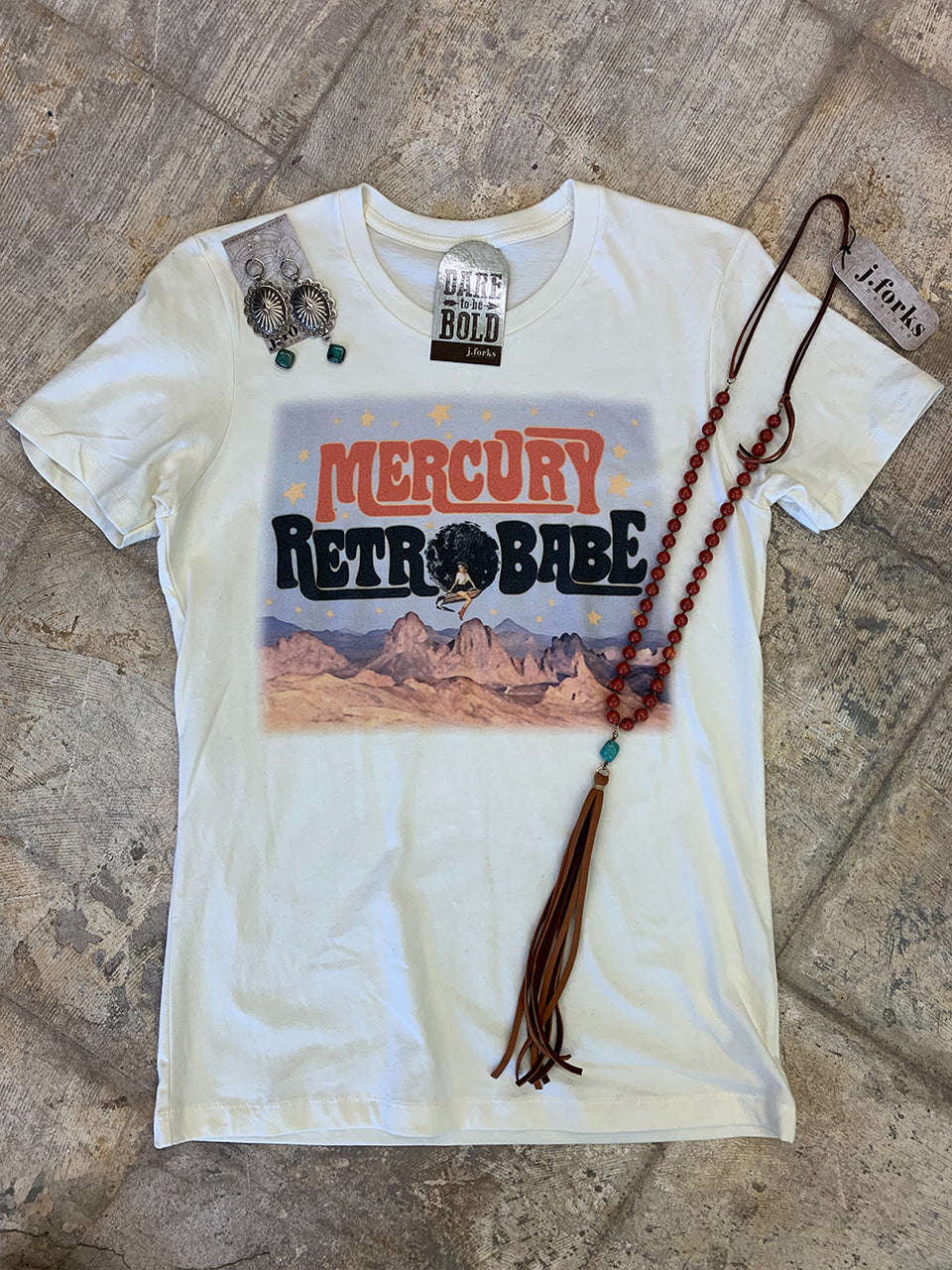 1117 Mercury Retrobabe Tee