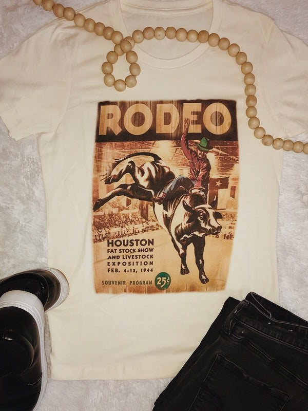 1115 Houston Rodeo Tee