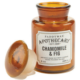 Paddywax Apothecary Jar Candle - Chamomile & Fig - 8 oz.