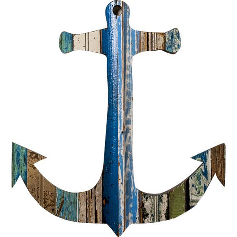 Large Anchor Wall Decor reclaimed wood decor – charley & co.