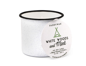 Paddywax Candles - Alpine White Woods & Mint